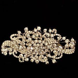 Wedding or Party Bling Rhinestone Jewelry - Wedding or Party Bridal Bling Rhinestone Brooch